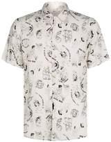 AllSaints Feels Short Sleeve Printed Shirt