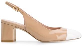 Stuart Weitzman Loraina chunky-heel pumps