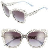 Dolce & Gabbana Women's Dolce&gababana 56Mm Gradient Square Sunglasses - Silver
