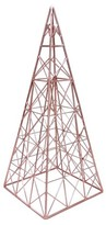 Threshold Wire Tower Figurine - Copper