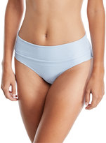 Heidi Klein Pintucked Fold-over Swim Bottom