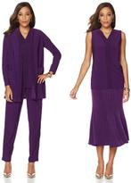 """Antthony Design Originals Antthony """"Totally Two-Tone"""" 4-piece Wardrobe Set - Jacket, Tank, Skirt and Pant"""