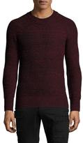 Diesel Black Gold Kabito Wool Crewneck Sweater