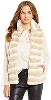 Gianni Bini Allison Faux-Fur Vest