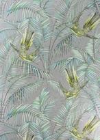 Matthew Williamson SIlver & Purple Sunbird Wallpaper