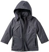 Urban Republic Boys 4-7 Ballistic Sherpa-Lined Hooded Midweight Jacket