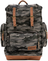 Eastpak camouflage backpack - men - Leather/Nylon - One Size