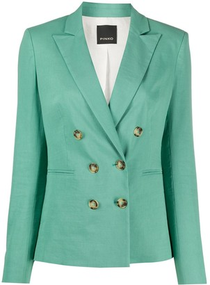Pinko Fitted Double Breasted Blazer