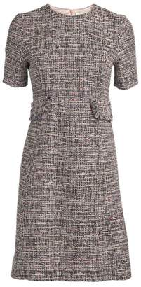 Goat Tweed Midi Dress
