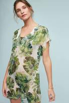Shoshanna Banana Leaf Silk Tunic