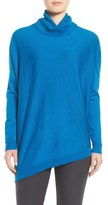 Eileen Fisher Women's Asymmetrical Merino Jersey Turtleneck