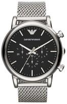 Emporio Armani Men's Chronograph Mesh Strap Watch, 46Mm