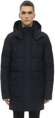 Moose Knuckles Miscou Island Hooded Nylon Down Parka