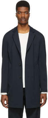 BOSS Navy Shayne-J Slim-Fit Coat