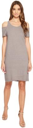 LAmade Women's Zadeth Cold Shoulder Tee Dress