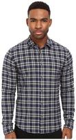 Scotch & Soda Dress Shirt in Brushed Cotton/Linen Quality