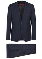 Hugo Alin/wyns/hetlin Wool Three-piece Suit