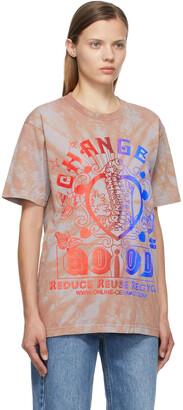 Online Ceramics Multicolor Tie-Dye 'Change Is Good' T-Shirt