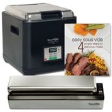 SousVide SupremeTM Demi 9-Liter Water Oven System in Black