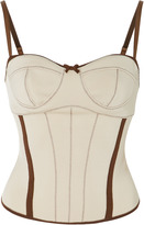 Loewe Stretch-Knit Corset Top
