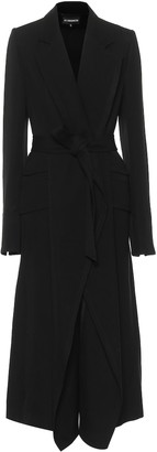 Ann Demeulemeester Wool and cotton coat