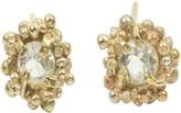 Kaia Diamond Earrings on 9k Gold Stud Earrings