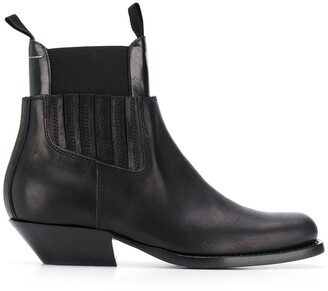 MM6 MAISON MARGIELA Panelled Ankle Boots