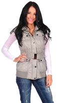 Dollhouse Belted Puffer Vest
