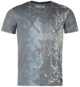 Firetrap Blackseal Wire V Neck T Shirt