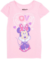 Freeze Cotton Candy 'Love' Minnie Mouse Tee - Infant & Girls