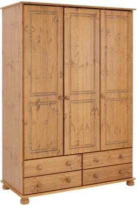 Richmond 3 Door, 4 Drawer Wardrobe