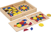Melissa & Doug Children's Pattern Blocks and Boards