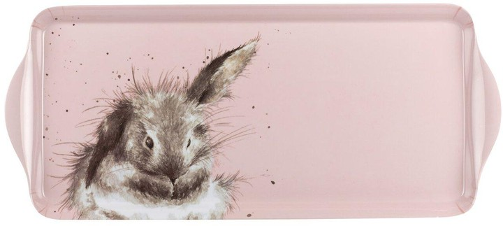 Thumbnail for your product : Royal Worcester Wrendale Pink Rabbit Sandwich Tray