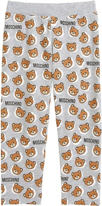 Moschino Bear Logo Graphic Leggings
