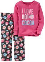 Carter's Girls 4-14 Winter Pajama Set
