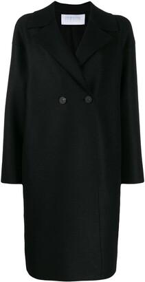 Harris Wharf London Boxy Double-Breasted Coat
