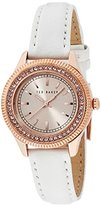 Ted Baker Women's TE6002 Bliss Analog Display Japanese Quartz White Watch