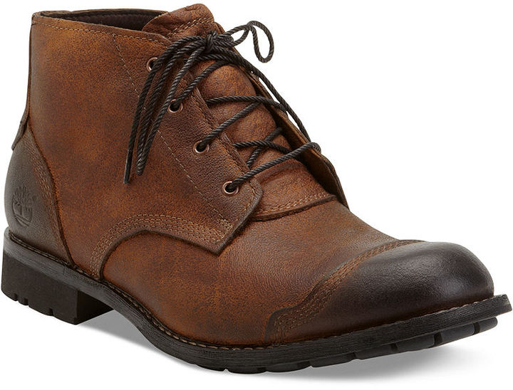 Timberland Boots, Earthkeepers City Premium Chukka Boots