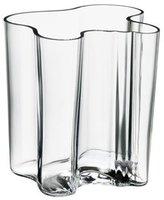 Iittala Alvar Aalto Collection Vase, Flower Vase, Indoor Vase, Table Vase, Glass, Transparent, 20 cm, 1007043