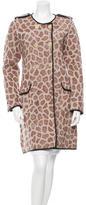 3.1 Phillip Lim Wool Printed Coat