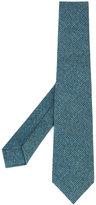 Kiton tweed tie