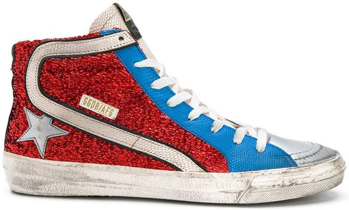 Golden Goose lace-up sneakers