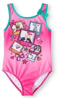 Jo-Jo Jojo Siwa JoJo Graphic One-Piece Swimsuit (Little Girls & Big Girls)
