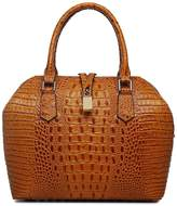 Vicenzo Leather Diane Croc Embossed Leather Tote