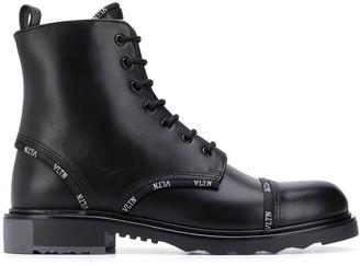 Valentino VLTN-trim combat boots