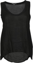 James Perse High Low Soft Woven Tank Top