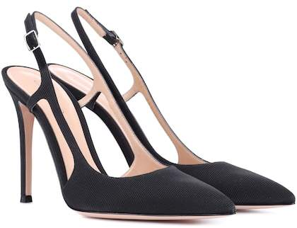 Gianvito Rossi Exclusive to mytheresa.com – Grosgrain slingback pumps