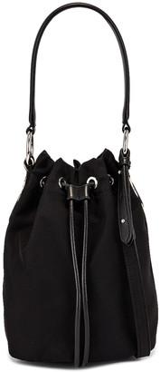 Stella McCartney Small Bucket Bag in Black   FWRD