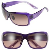 Maui Jim Women's Seven Pools 62Mm Polarizedplus2 Sunglasses - Purple Fade/ Maui Rose
