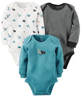 Carter's 3-Pack Long-Sleeve Thermal Bodysuits